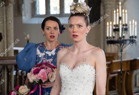 (SR8: Ep 1) - Jessica Ransom as Morwenna Newcross and Robyn Addison as Janice Bone.