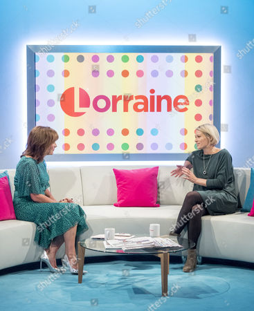 Lorraine Kelly and Sian Brooke