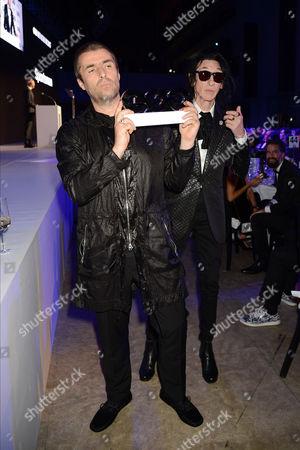 Liam Gallagher and John Cooper Clarke