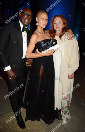 Charles Aboah, Adwoa Aboah, and Camilla Lowther