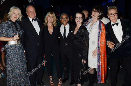 Stock Image of Nicholas Coleridge, Rachel Johnson, Sadiq Khan, Frances Corner with guests