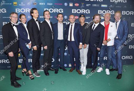 Jon Nohrstedt, Tuva Novotny, Fredrik Wikström, Sverrir Gudnason, Shia LaBeouf, Ronnie Sandahl, Leo Borg, Janus Metz, Bjorn Borg, Stellan Skarsgard