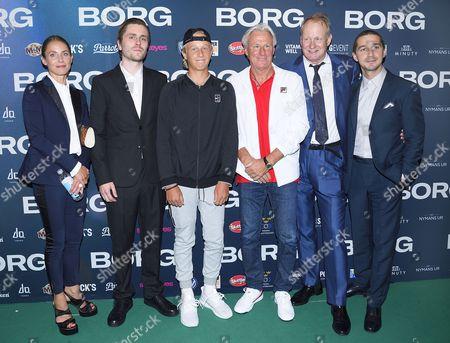 Tuva Novotny, Sverrir Gudnason, Leo Borg, Bjorn Borg, Stellan Skarsgard, Shia LaBeouf