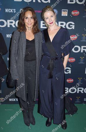 Editorial image of 'Borg/McEnroe' film premiere, Stockholm, Sweden - 04 Sep 2017
