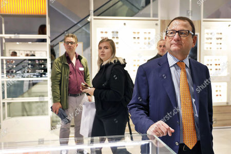 Gerald Storch, CEO of the Canadian retail business group Hudson's Bay, attends the opening of the first Canadian retail business group Hudson's Bay Company store in Amsterdam, The Netherlands, 05 September 2017. The first of ten department stores in the Netherlands opened its doors for customers on 05 September.