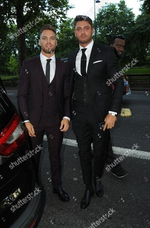Dominic Lever and Mike Thalassitis