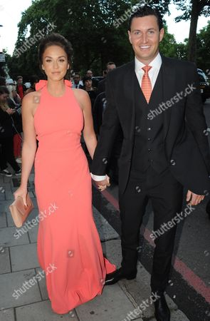Stock Image of Vicky Pattison and James Noble