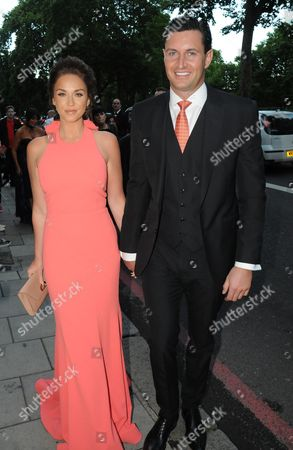 Vicky Pattison and James Noble