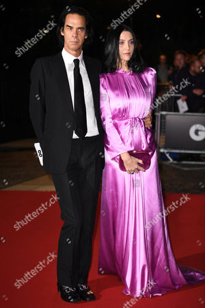 Stock Image of Nick Cave and Susie Bick