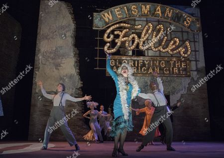 Editorial photo of 'Follies' Musical performed in the Olivier Theatre, at the Royal National Theatre, London, UK, 04 Sep 2017
