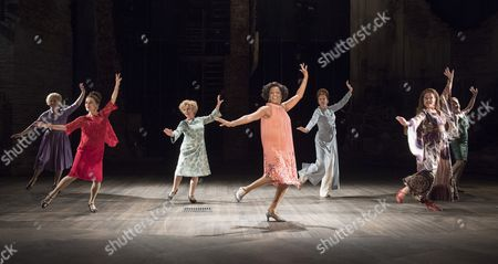 Editorial picture of 'Follies' Musical performed in the Olivier Theatre, at the Royal National Theatre, London, UK, 04 Sep 2017