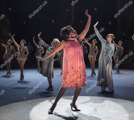 Editorial image of 'Follies' Musical performed in the Olivier Theatre, at the Royal National Theatre, London, UK, 04 Sep 2017