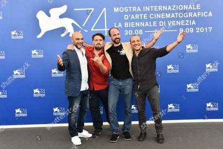 Editorial photo of 'La Gatta Cenerentola' photocall, 74th Venice International Film Festival, Italy - 05 Sep 2017