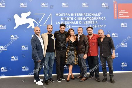 Editorial photo of 'La Gatta Cenerentola' photocall, 74th Venice International Film Festival, Italy - 05 Sep 2017