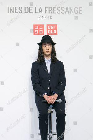 Editorial photo of Uniqlo x Ines de la Fressange collection launch, Tokyo, Japan - 05 Sep 2017