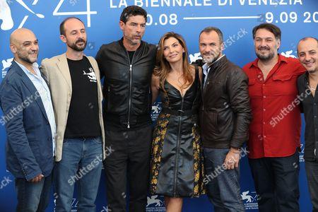 Ivan Cappiello, Alessandro Rak, Alessandro Gassmann, Maria Pia Calzone, Massimiliano Gallo, Marino Guarnieri and Dario Sansone