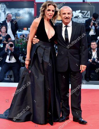 Carlo Buccirosso and Claudia Gerini