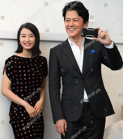 Fukuyama Masaharu and Hirose Suzu