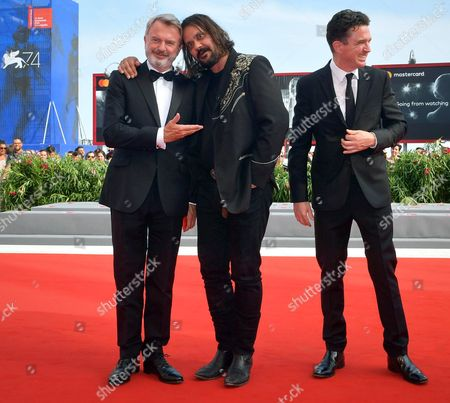 Sam Neill, Warwick Thornton and Matt Day