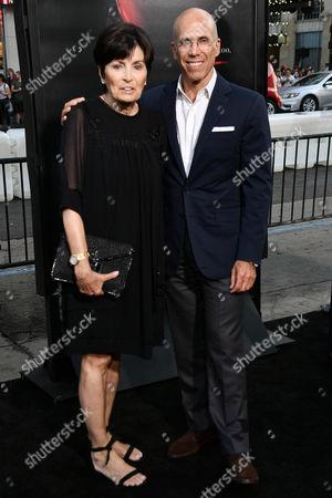 Marilyn Katzenberg and Jeffrey Katzenberg
