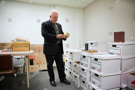 grays office supplies. Grays Harbor County Coroner, Lane Youmans, Holds One Of The Many Unclaimed Remains Stored Office Supplies