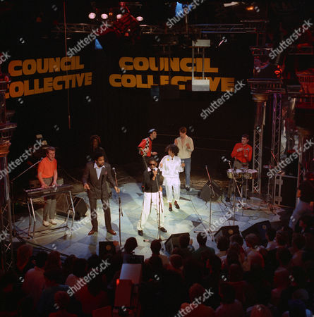 The Council Collective - Mick Talbot, Jimmy Ruffin, Junior Giscombe, D.C. Lee, Paul Weller and Steve White
