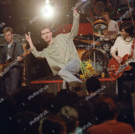 'The Tube' - The Smiths - Andy Rourke, Morrissey, Mike Joyce and Johnny Marr
