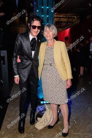 John Cooper Clarke with his wife Evie Clarke