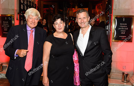 Stock Photo of Jeffery Robertson, Joanne Harris and Adam Hills