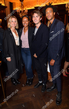 Sophie Ashby, Alice Casely-Hayford, Sean Baker and Charlie Casely-Hayford