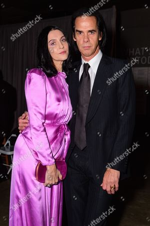 Nick Cave with his wife Susie Bick