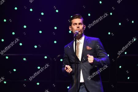 Editorial photo of The Overtones in concert, Ffwernes Theatre, Llanelli, Wales, UK - 02 Sep 2017