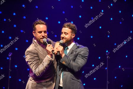 Editorial picture of The Overtones in concert, Ffwernes Theatre, Llanelli, Wales, UK - 02 Sep 2017