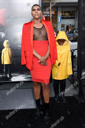 """Earvin III Johnson attends the LA Premiere of """"It"""" at the TCL Chinese Theatre, in Los Angeles"""