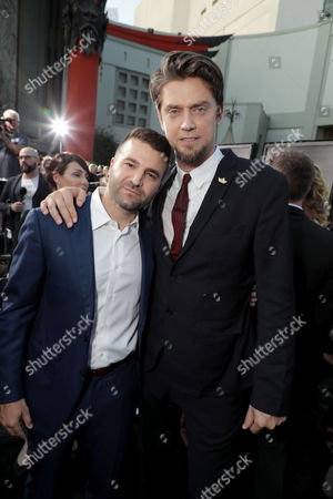 Producers David Katzenberg & Seth Grahame-Smith. #ITMovie