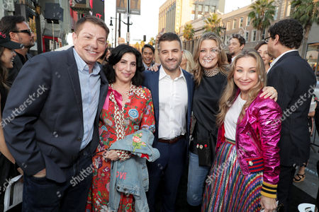 Seth Grahame-Smith, Producer, Sue Kroll, President, Worldwide Marketing and Distribution, Warner Bros. Pictures, David Katzenberg, Producer, Carolyn Blackwood, President, Operations & Content Strategy, New Line Cinema, Blair Rich, President of Worldwide Marketing, Warner Bros. Pictures