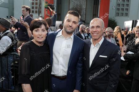 Marilyn Katzenberg, David Katzenberg, Producer, Jeffrey Katzenberg