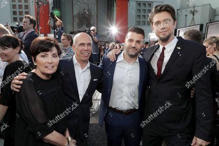 Marilyn Katzenberg, Jeffrey Katzenberg, David Katzenberg, Producer, Andy Muschietti, Director