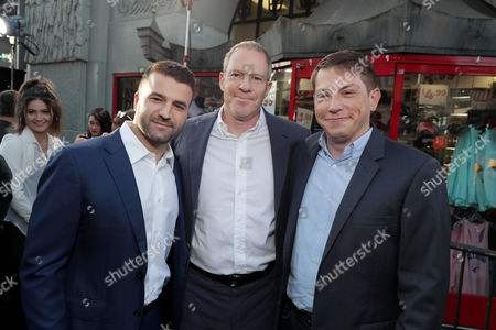 David Katzenberg, Producer, Toby Emmerich, President and Chief Content Officer, Warner Bros. Pictures Group, Seth Grahame-Smith, Producer
