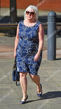 Sadie Hartley Murder Trial At Preston Crown Court Preston Lancs. - Julie Taylor The Best Friend And Business Partner Of Sadie Hartley.