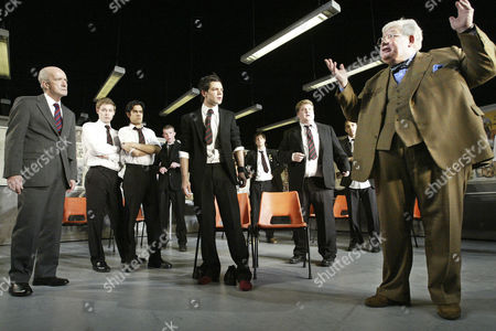 'The History Boys' - Clive Merrison, Sacha Dhawan, Dominic Cooper, James Corden and Richard Griffiths