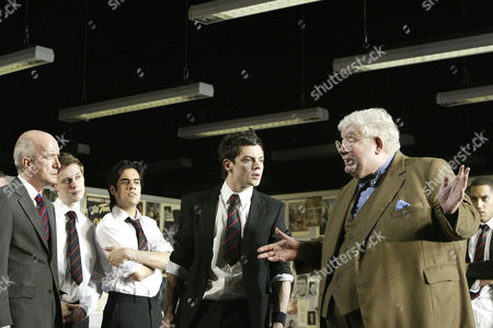 Clive Merrison, Sacha Dhawan, Dominic Cooper and Richard Griffiths