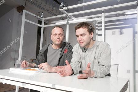'Future Me' - David Benson (Tim) and Rupert Hill (Peter)