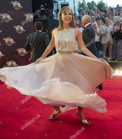 Darcy Bussell Makes A Grand Entrance On The Strictly Come Dancing Unveiling For This Years (2016) Series.