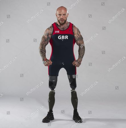 Editorial picture of 2016 Summer Paralympics Rio Brazil Preview. Picture Graham Chadwick. Elite Military Athlete Supported By Help For Heroes. Micky Yule (powerlifting).