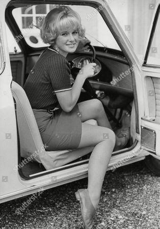Debbie Bowen Actress Sitting In A Mini Car. Box 721 606121648 A.jpg.