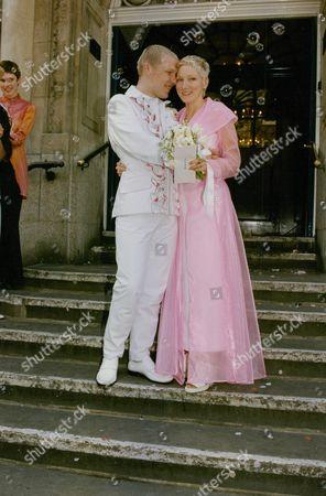 Wedding Of Daniel Bonington Son Of Mountaineer Chris Bonington To Miss Judith Hammerston At Kensington & Chelsea Register Office Today. Box 722 207121622 A.jpg.