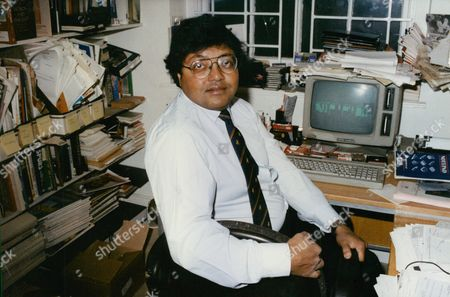 Stock Picture of Mihir Bose Indian-born Author. Box 722 207121639 A.jpg.