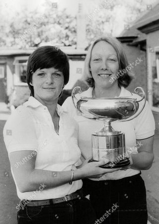 Helen Boyd (l) And Pamela Morgan After Winning The Daily Mail Women's Amateur Foursome Golf Title At Hoylake. Box 723 508121638 A.jpg.
