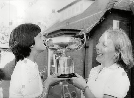 Helen Boyd (l) And Pamela Morgan After Winning The Daily Mail Women's Amateur Foursome Golf Title At Hoylake. Box 723 50812168 A.jpg.